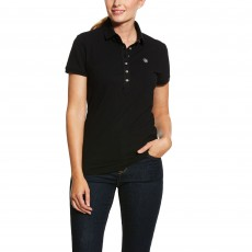 Ariat Women's Prix Polo 2.0 (Black)