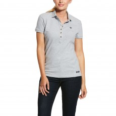 Ariat Women's Prix Polo 2.0 (Heather Grey)