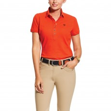Ariat Women's Prix Polo 2.0 (Red Clay)