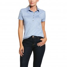 Ariat Women's Talent Polo (Blue Heather)
