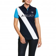 Ariat Women's Taryn Polo (Navy/Nautilus)