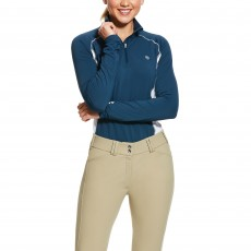 Ariat Women's Tri Factor Base Layer (Deep Petroleum)