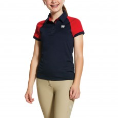 Ariat Youth 3.0 Team Polo (Navy)