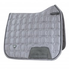 Woof Wear Vision Dressage Saddle Cloth (Brushed Steel)