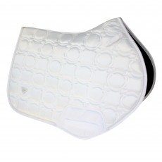 Woof Wear Vision Close Contact Saddle Cloth (White)
