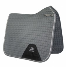 Woof Wear Dressage Saddle Cloth Colour Fusion (Brushed Steel)