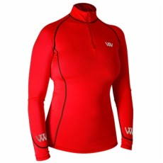 Woof Wear Ladies Performance Riding Shirt (Royal Red)