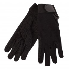 Saddlecraft Adults Gripfast Gloves (Black)