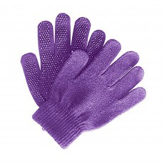Saddlecraft Adults Magic Gloves (Purple)