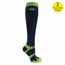 Woof Wear Winter Riding Socks (Navy)