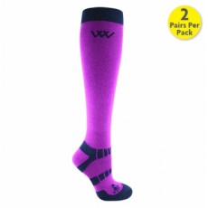 Woof Wear Winter Riding Socks (Ultra Violet)