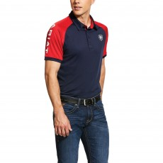 Ariat Men's 3.0 Polo (Team Navy)