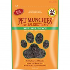 Pet Munchies Natural Dog Treats (Beef Liver Crunch)