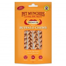 Pet Munchies Natural Dog Treats (Dental Buffalo Chews)