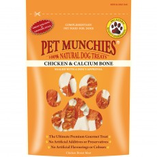 Pet Munchies Natural Dog Treats (Chicken and Calcium Bone)