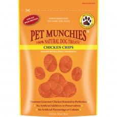 Pet Munchies Natural Dog Treats (Chicken Chip)