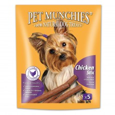 Pet Munchies Natural Dog Treats (Chicken Stix)