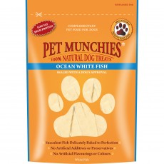 Pet Munchies Natural Dog Treats (Ocean White Fish)