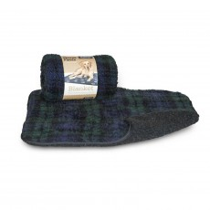 Danish Design Fleece Paw Blanket (Blackwatch)