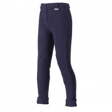 Harry Hall Childs Chester GVP Tex Jodhpurs (Navy Blue)