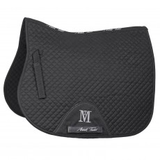Mark Todd (Clearance) Super Cotton High Wither GP Saddlepad (Black)