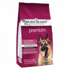 Arden Grange Premium (Fresh Chicken & Rice) 12kg