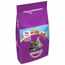 Whiskas 1+ Dry Cat Food (Tuna) 2kg