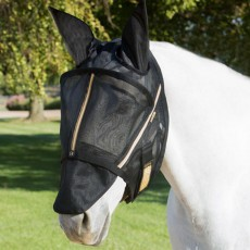 Noble Outfitters Guardsman Fly Mask (Black)
