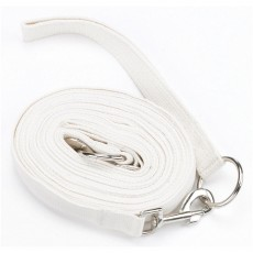 Hy Draw Reins With Clips (White)