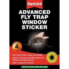 Rentokil Fly Trap Window Stickers