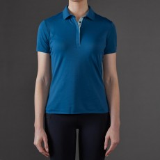 Toggi Sport Women's Airy Technical Polo Top (Deep Teal)
