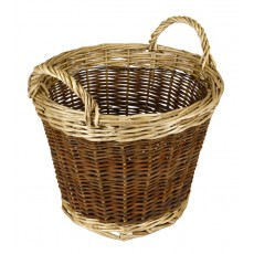 2 Tone Log Basket