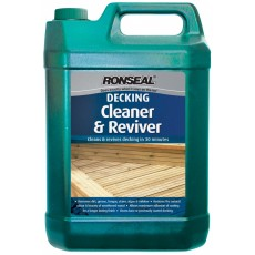 Ronseal Decking Cleaner and Reviver (5 Litre)