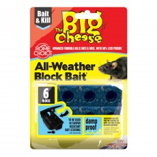 The Big Cheese All Weather Bait Block (15 x 10g)