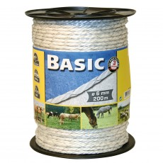 Basic Fencing Rope C/W Copper Wires 200m