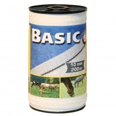 Basic Fencing Tape 200m X 10mm