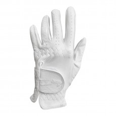 Mark Todd Adults Leather Riding/Show Gloves (White)