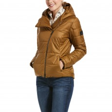 Ariat Womens Kilter Insulated Jacket (Bronze Brown)