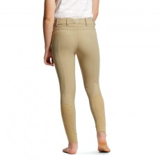 Ariat Youth Tri Factor EQ Grip Knee Patch Breech (Tan)
