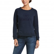Ariat Womens Torrey Sweatshirt (Navy)