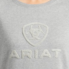 Ariat Womens Torrey Sweatshirt (Heather Grey)