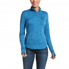 Ariat Womens Gridwork Base Layer (Blue Dawn)