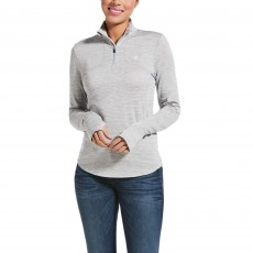 Ariat Womens Gridwork Base Layer (Sleet)