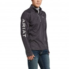 Ariat Men's Tek Team 1/2 Zip Sweatshirt (Periscope Heather)