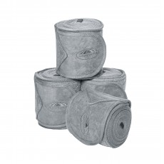 Weatherbeeta Fleece Bandage 4 Pack (Grey)