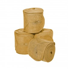 Weatherbeeta Fleece Bandage 4 Pack (Mustard Yellow)