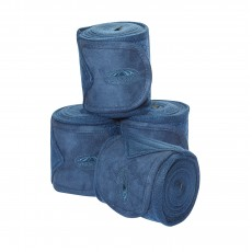 Weatherbeeta Fleece Bandage 4 Pack (Navy)