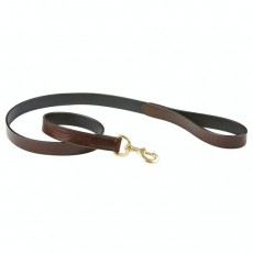 Weatherbeeta Leather Dog Lead (Brown)