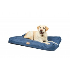 Weatherbeeta Pillow Denim Dog Bed (Blue Denim)