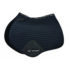 Weatherbeeta Prime Jump Shaped Saddle Pad (Black)